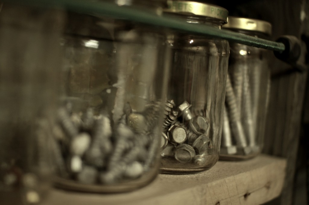 jars close up