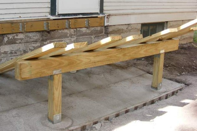 How we built the platform for the new stoop d 39 oh i y for New house construction steps