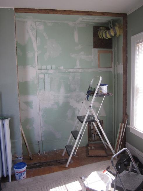 closet pre paint