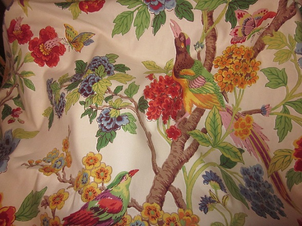 Bedroom curtain fabric