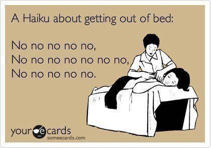 Bed-Haiku