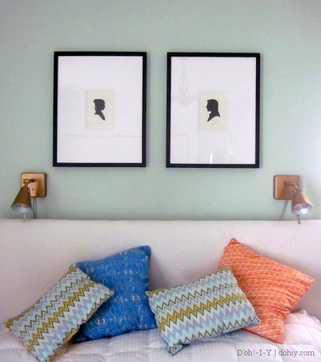 How to Fix a Bowed Gallery Frame or Ikea Frame | D\'oh!-I-Y