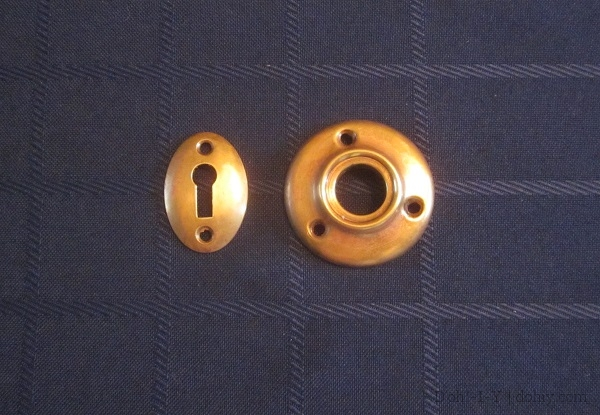 Vintage Door Escutcheons