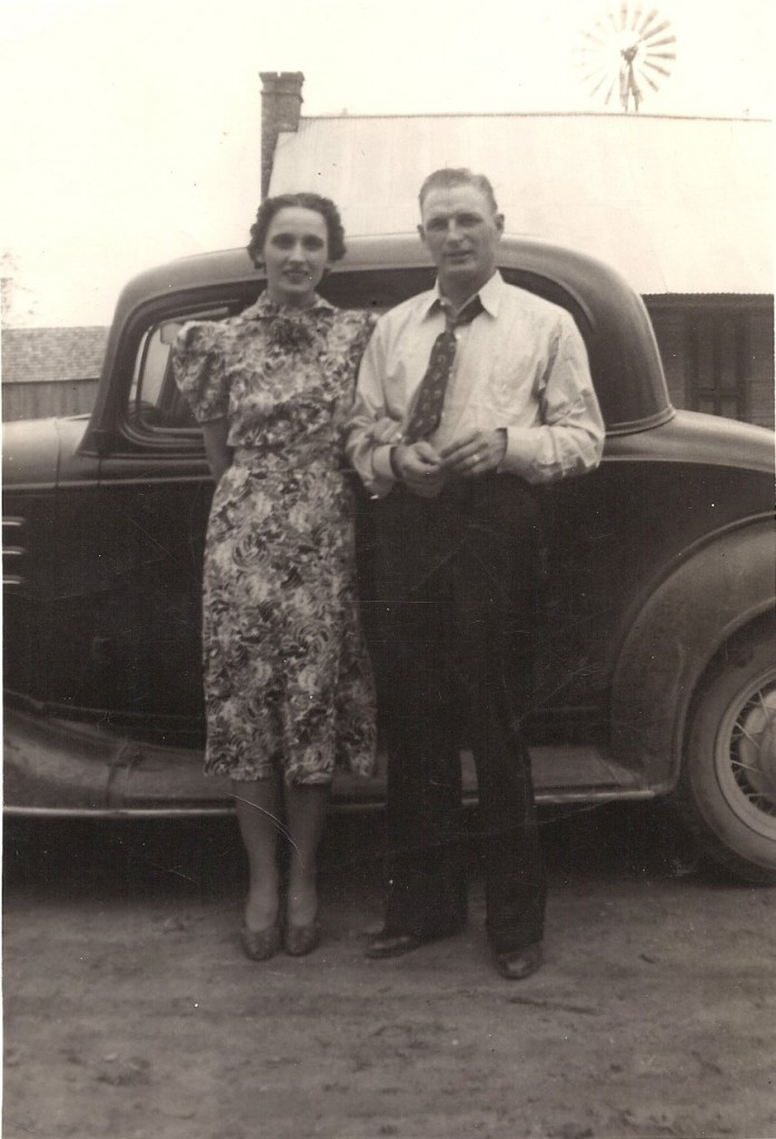 My grandparents Velma and Mickey back in the day.