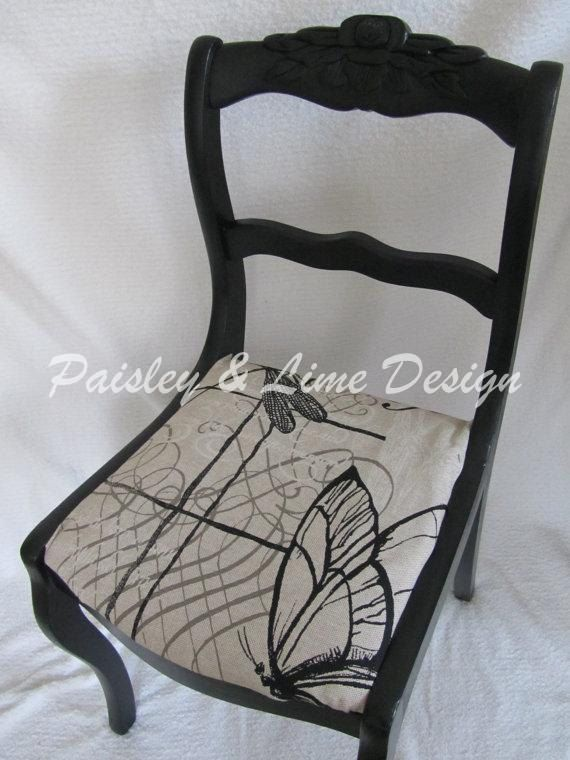 Rose back chair