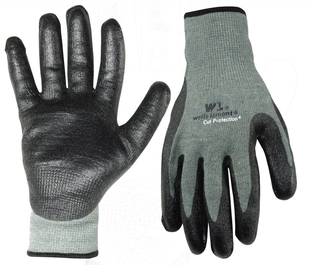 dipped nitrile glove