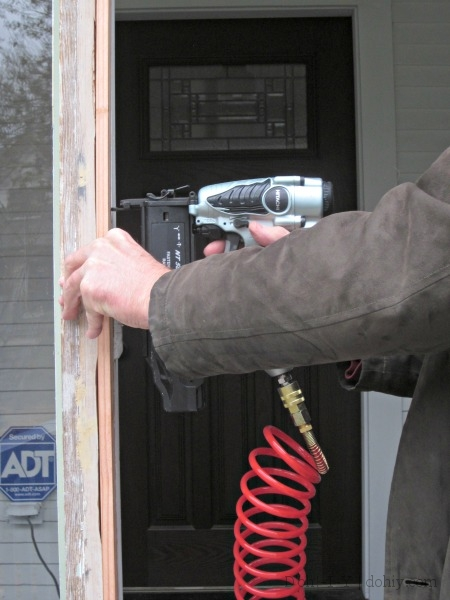 repairing door frame