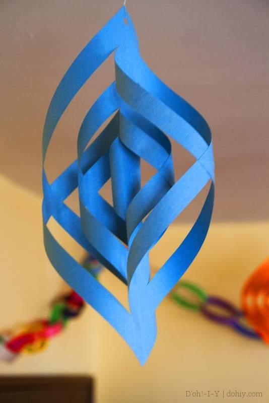 Blue Christmas ornament