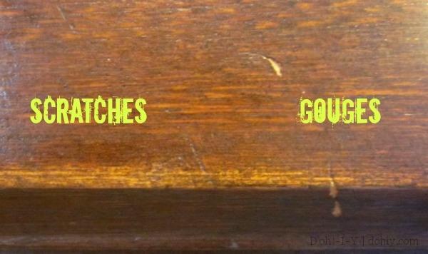 headboard gouge