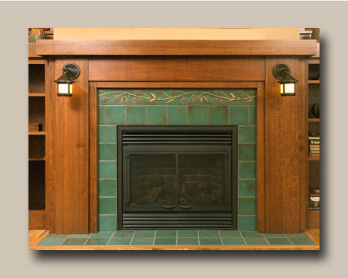 Fireplace and hearth tiling d 39 oh i y for Arts and crafts for sale
