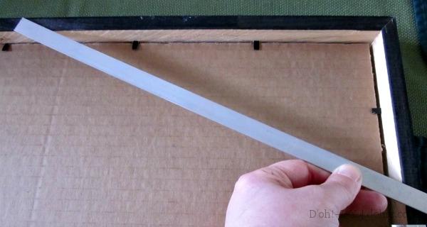 Thin alumin(i)um strip