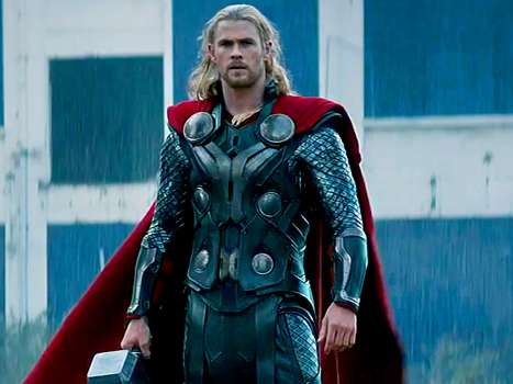 Thor. Not on fire, but still pretty hot.