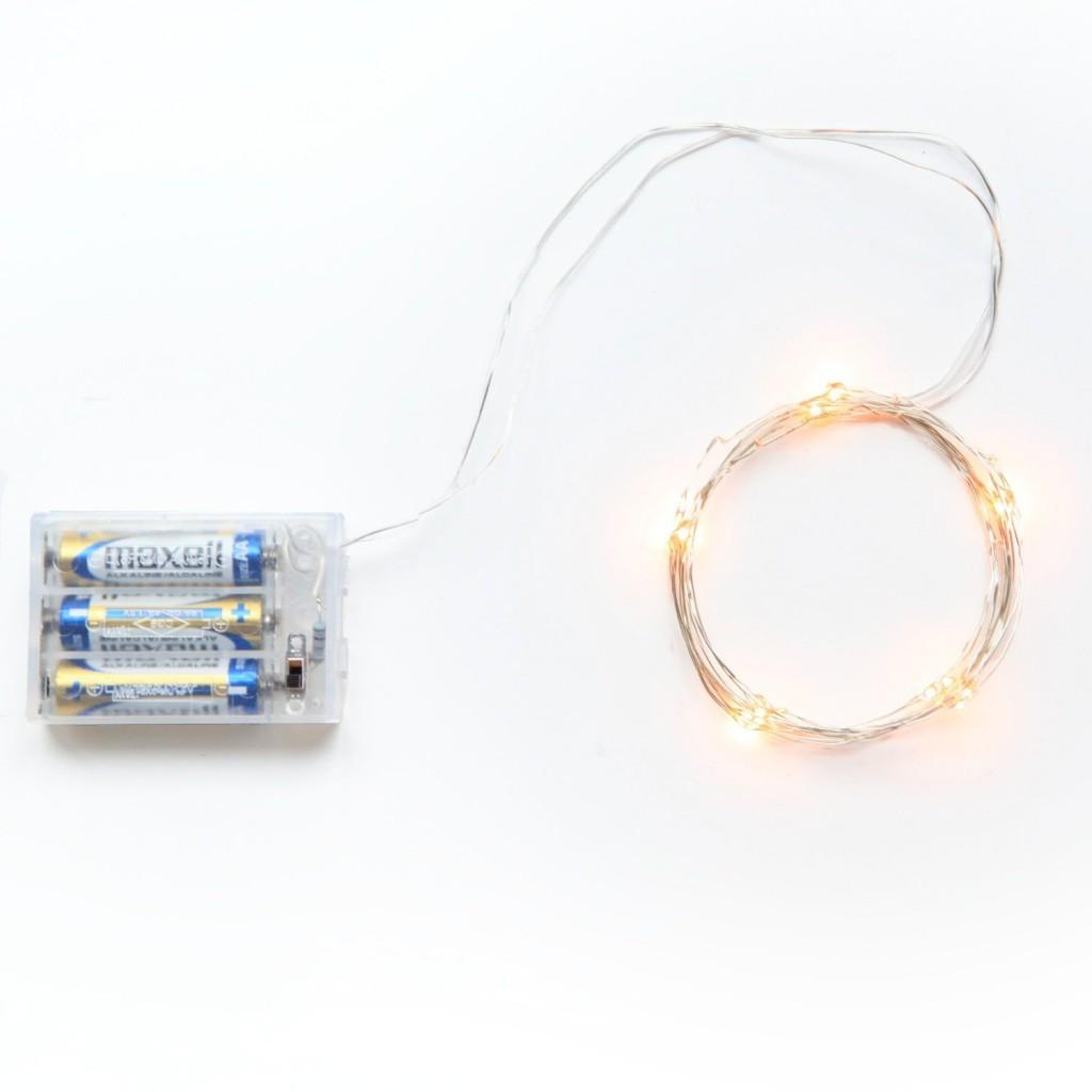 RTGS Micro LED 20 Super Bright Warm White Strand