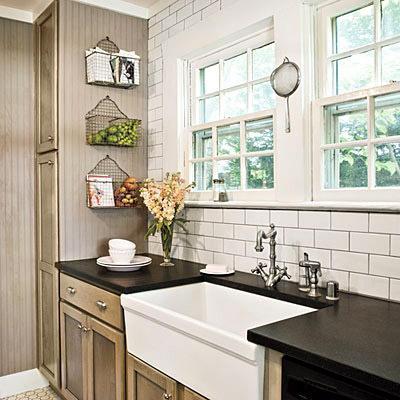 Kitchens With Subway Tile selecting a tile pattern for a kitchen backsplash | d'oh!-i-y