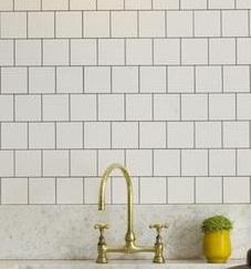 white tile offset detail