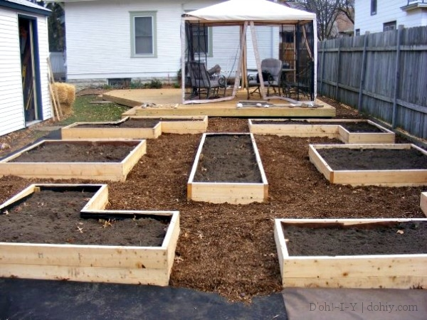 finished beds