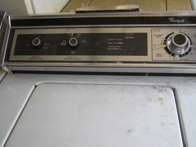 washing machine 1970s