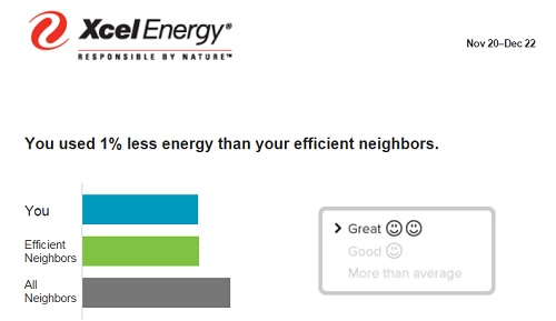 Actually, BETTER than efficient neighbors