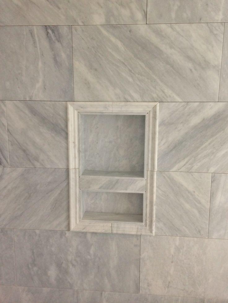 Installing a Preformed Shower Niche to Tile | D\'oh!-I-Y