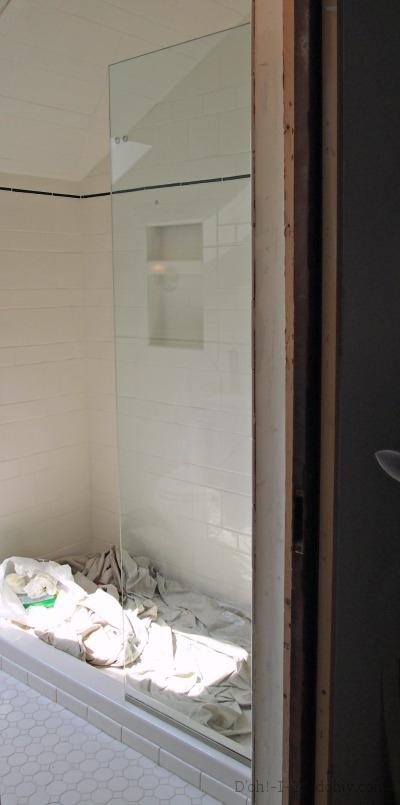 Installing A Frameless Shower Door D Oh I Y