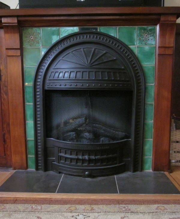 DIY Fireplace Sound System | D'oh!-I-Y