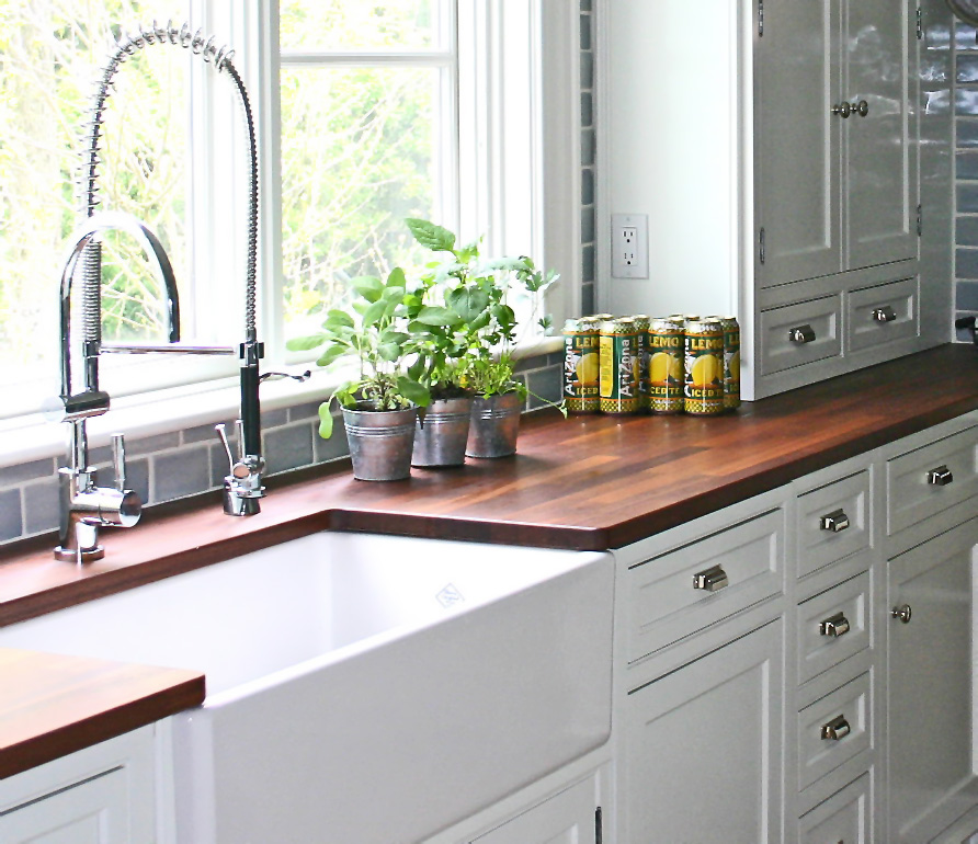 Kitchen Countertops: Let Me Count the Options | D'oh!-I-Y on Farmhouse Counter Tops  id=82498